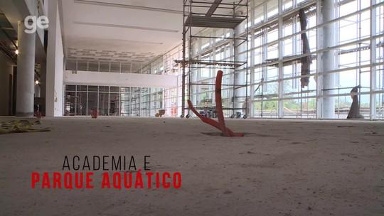 A 40 dias da inauguração, novo CT do Flamengo entra em fase de acabamento; veja imagens