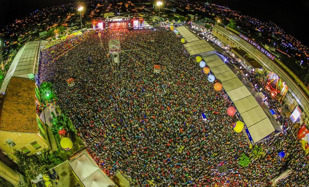 São João de Caruaru atraiu milhares de pessoas entre os dias 3 e 29 de junho (Foto: Rafael Lima/Divulgação)