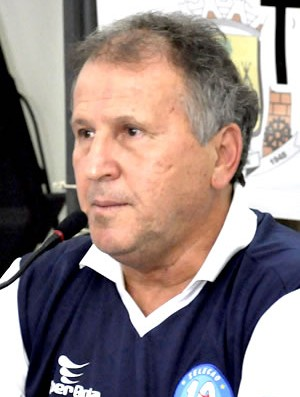 Em Mato Grosso, Zico se diz preocupado com obras da copa (Foto: Dhiego Maia/GLOBOESPORTE.COM)
