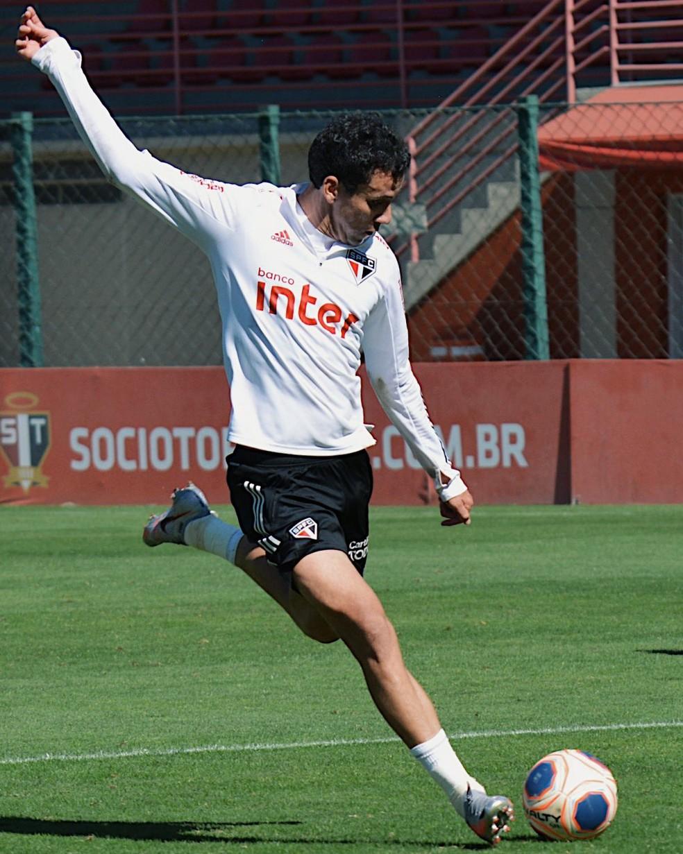 Pablo deve ser titular do São Paulo após saída de Antony — Foto: Reprodução/Twitter