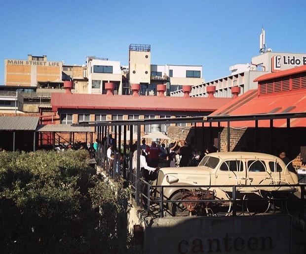 O bairro de Maboneng, em Joanesburgo, se tornou um centro cultural (Foto: Reprodução/Instagram)