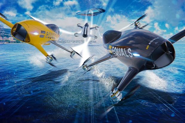 Carros aéreos vão competir a 20 metros de altura (Foto: Divulgação)