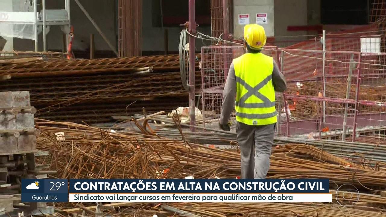 Construção civil vive alta nas contratações e vagas de emprego devem crescer em 2021