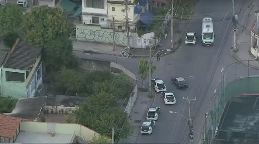 Polícia faz operação contra a milícia em comunidade de Del Castilho e na Baixada Fluminense
