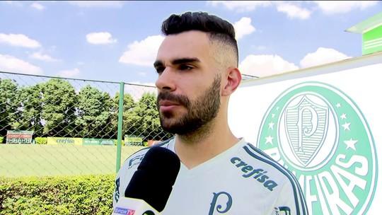 Bruno Henrique fala sobre o recomeço do Palmeiras no Campeonato Brasileiro