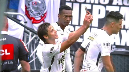 Em ascensão, Rodriguinho só fica atrás de Jô em participação de gols no Corinthians