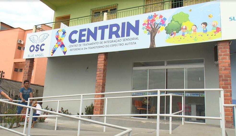 Centro é especializado em autismo (Foto: Mona Moura / Rede Amazônica Acre)