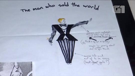 Museu do Brooklin exibe exposição sobre o mundo criativo de David Bowie