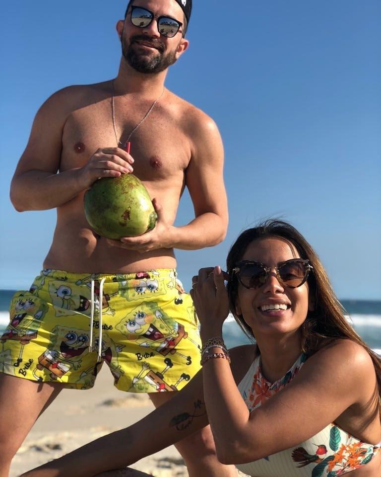 Anitta e Glaucio David (Foto: Reprodução/Instagram)