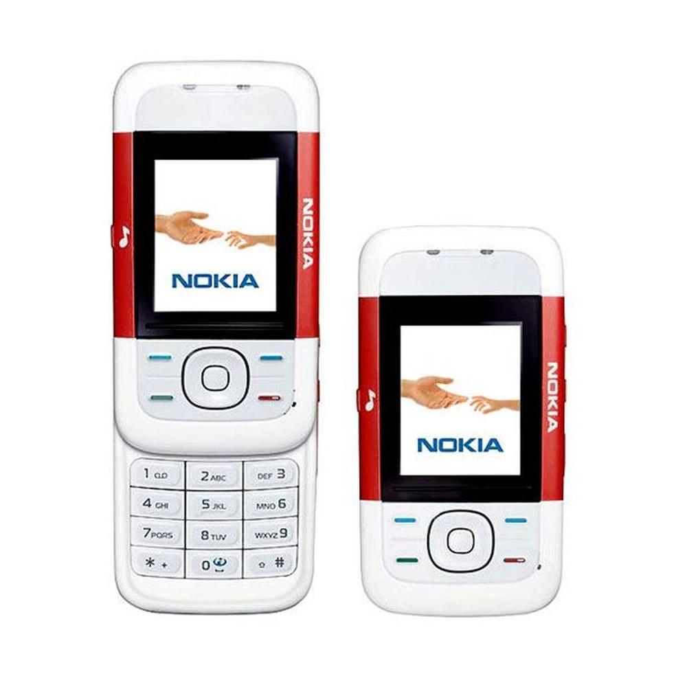 Nokia 5200 foi sucesso entre jovens nos anos 2000 � Foto: Divulgação