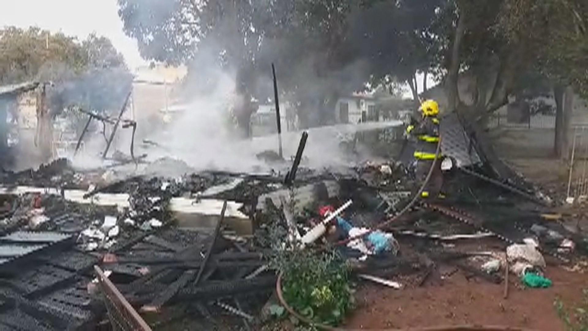 Homem morre após incêndio de casa em Ijuí, diz Corpo de Bombeiros