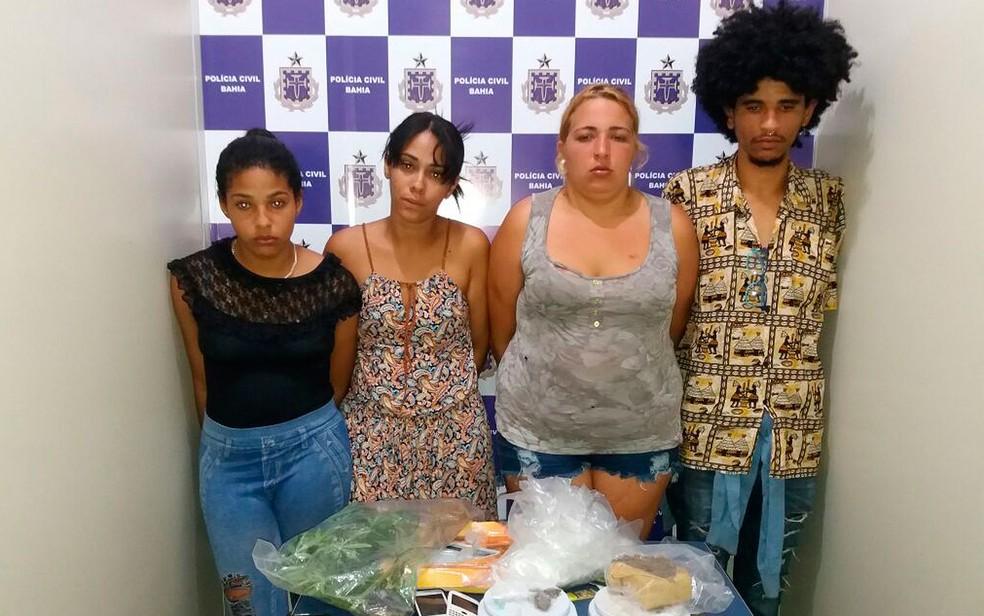 Prisões ocorreram no município de Vitória da Conquista, no sudoeste da Bahia (Foto: Divulgação / Polícia Civil)