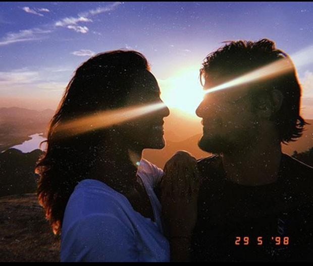 Gissoni e Yanna (Foto: Reprodução)