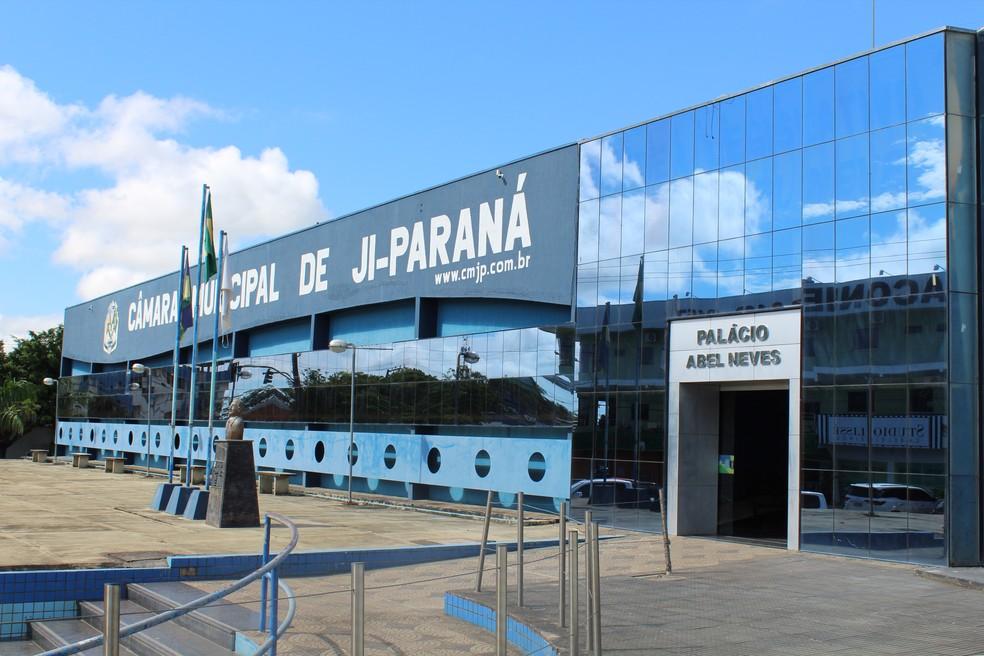 Concurso está com vagas abertas para a Câmara Municipal de Ji-Paraná — Foto: Pâmela Fernandes/ G1/Arquivo