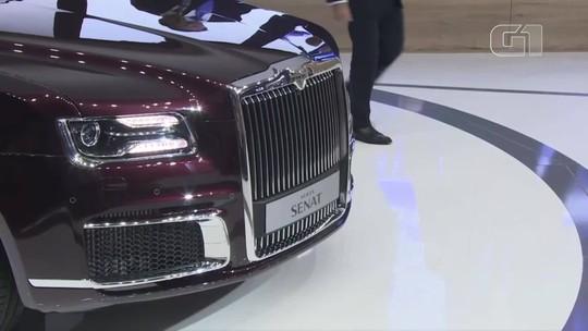Limusine do Putin, Bugatti de Lego que anda de verdade, Renault Arkana e mais destaques da semana