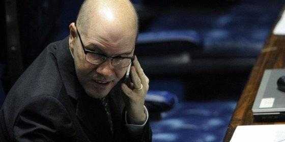 O ex-senador Demóstenes Torres (Foto: Fábio Rodrigues Pozzebom/ABr )