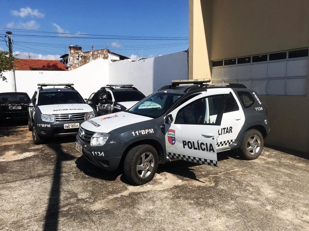 Missão Guajiru contou com apoio da Polícia Militar — Foto: Kleber Teixeira/Inter TV Cabugi