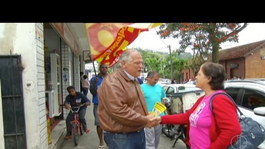 Rubens Bomtempo fala sobre saúde no bairro Nogueira, em Petrópolis, RJ