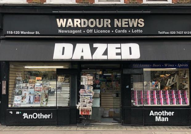 A Wardour News, em Londres (Foto: Reprodução/Instagram)