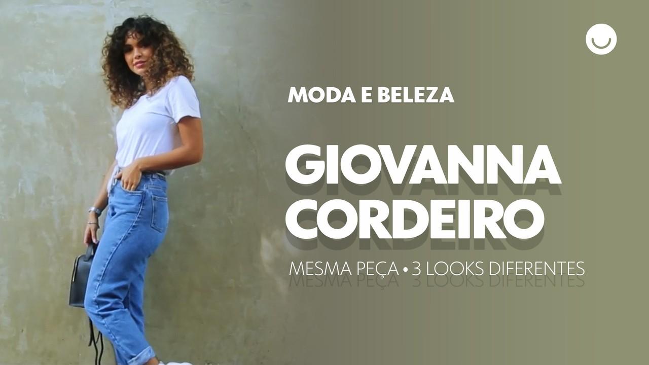 Giovana Cordeiro mostra como aproveitar a mesma peça em três looks diferentes