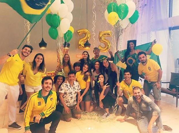 Aniversário de Camila Queiroz (Foto: Reprodução/Instagram)