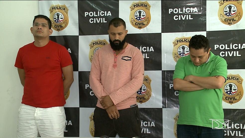 Bando é preso no Maranhão por suspeita de clonar celular de prefeito em Santa Catarina. — Foto: Reprodução/TV Mirante