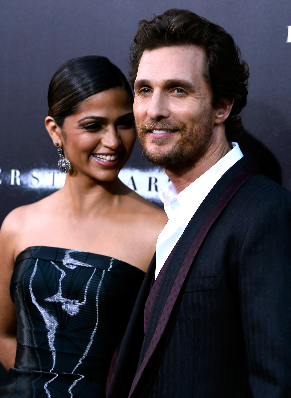 Matthew McConaughey e Camila Alves - juntos desde 2008 - 3 filhos (Foto: Getty Images)