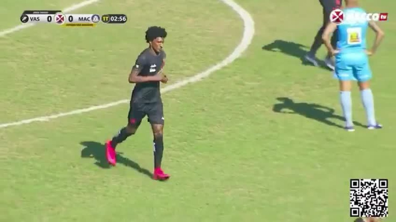 Talles Magno abre placar para o Vasco em jogo-treino contra o Macaé