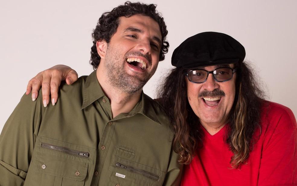 Moraes Moreira e Davi Moraes fazem show no Largo Quincas Berro D'Água, em Salvador | Verão 2020 | G1