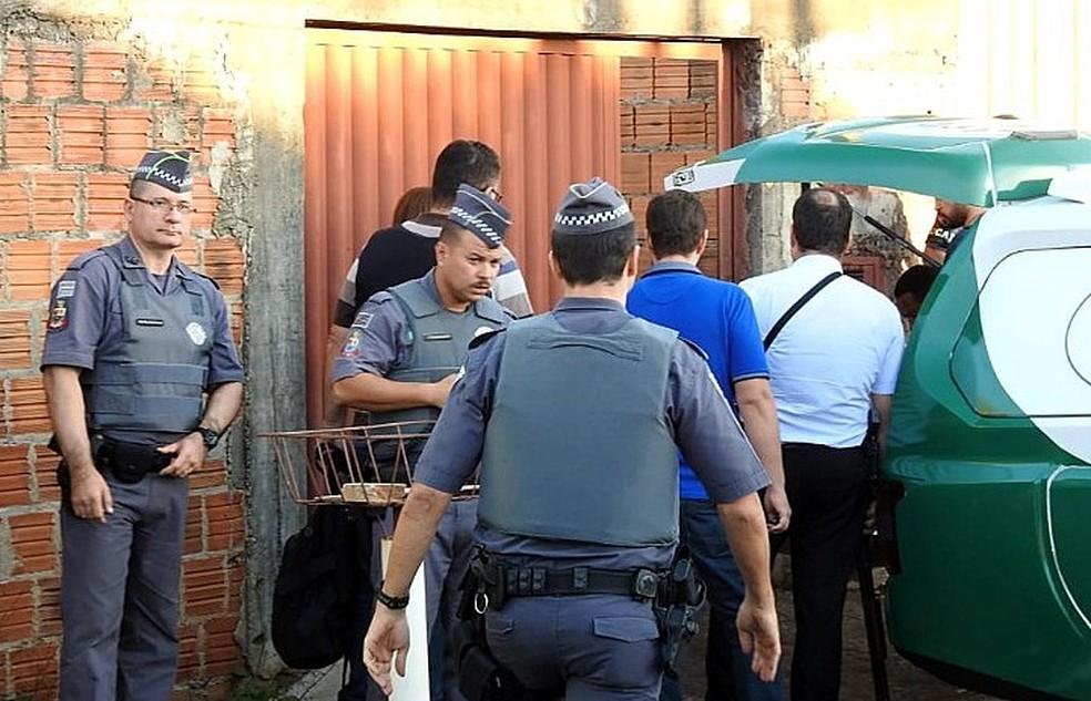 Parte do corpo estava na casa do acusado no bairro Hortênsias em Araraquara — Foto: A Cidade ON/Araraquara