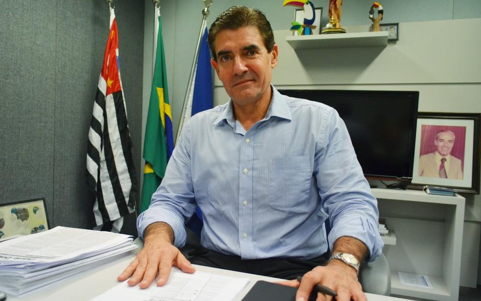 O prefeito de Ribeirão Preto, Duarte Nogueira (PSDB) — Foto: Adriano Oliveira/G1/Arquivo