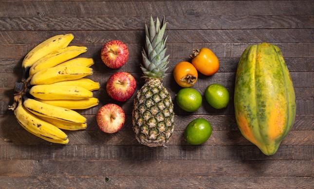 Frutas orgânicas da Orgânicos in Box