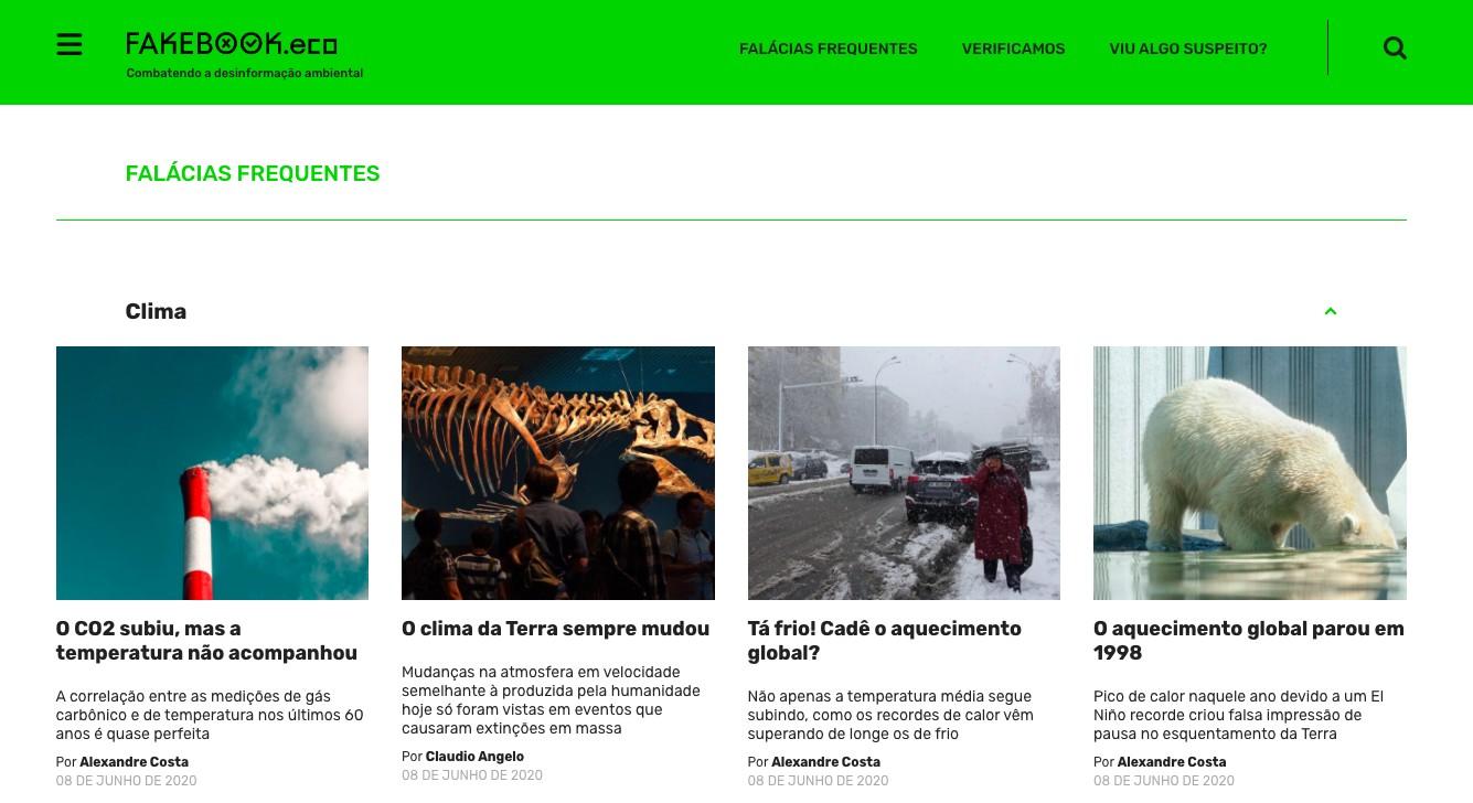 A plataforma surgiu para sistematizar o conhecimento sobre meio ambiente (Foto: Reprodução)