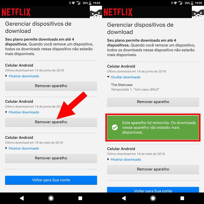 Netflix: como gerenciar os celulares que podem fazer download de
