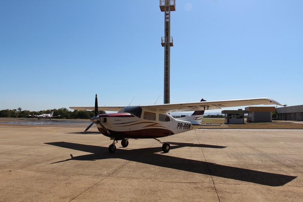 Avião será usado em operações policiais no Tocantins — Foto: Divulgação/Polícia Militar