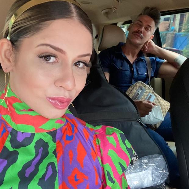 Marília Mendonça e Eduardo Guimarães trabalham juntos há quatro anos (Foto: Reprodução/ Instagram)