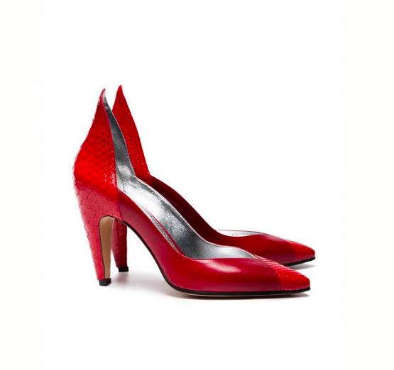 O sapato sugerido por Pedro Salles para  (Foto: Divulgação)