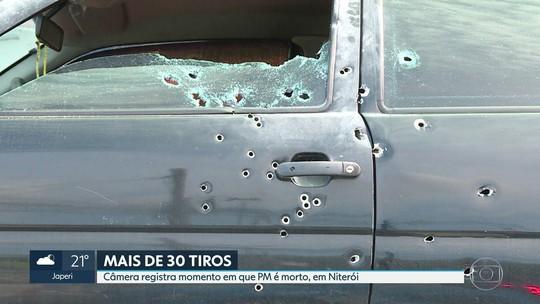 PM é morto com mais de 30 tiros em Niterói, Região Metropolitana do RJ