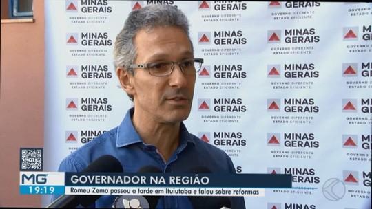Em visita ao Triângulo Mineiro, Romeu Zema fala sobre ações do governo em diversos setores