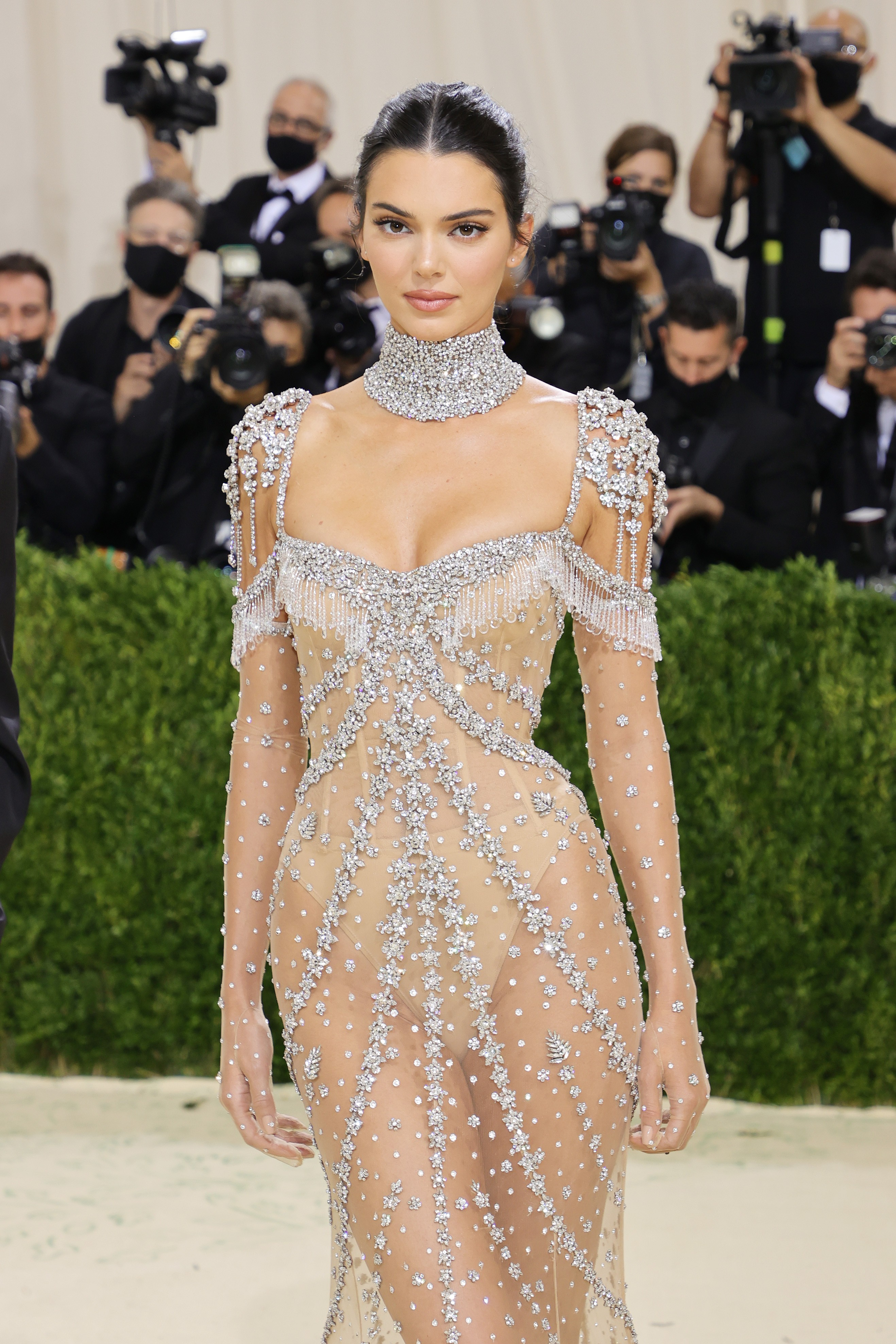 Kendall Jenner no MET Gala 2021 (Foto: Getty Images)