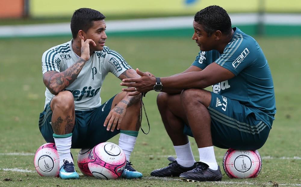 Dudu vê Palmeiras mais forte e destaca trabalho de Roger Machado