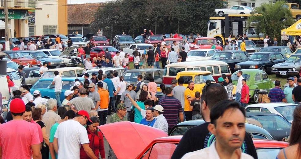 Encontro de Veículos Antigos e Clássicos deve reunir cerca de 600 colecionadores (Foto: Divulgação)