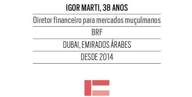 Igor Marti, 38 anos, Diretor financeiro para mercados muçulmanos BRF (Foto: Piti Reali/Divulgação)