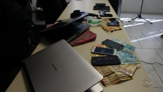 Operação combate quadrilha de roubos e tráfico que atuava em ao menos cinco cidades gaúchas