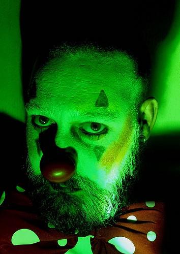 Fobia de palhaços é chamada de coulrofobia (Foto: mika est glauque/Flickr/Creative Commons)