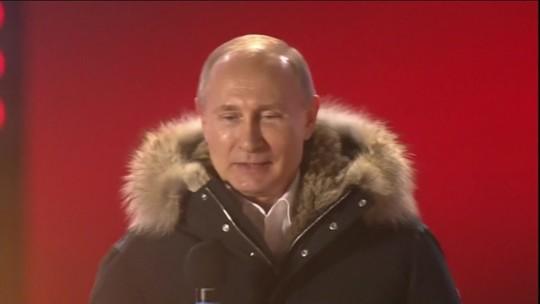 Putin é eleito para 4º mandato em eleições na Rússia