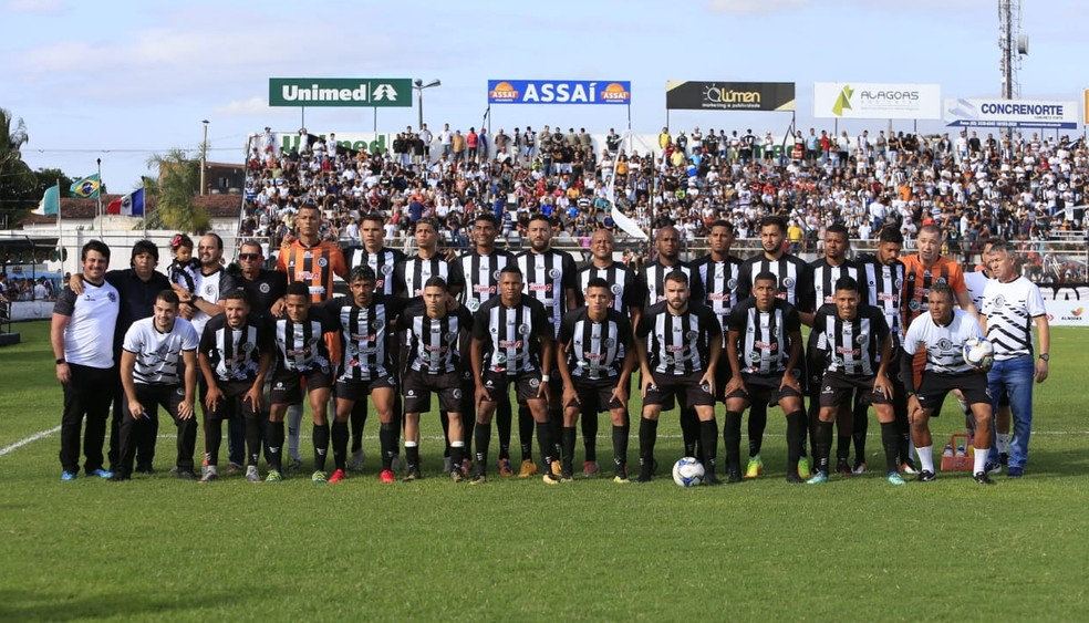 Elenco do ASA para o Campeonato Alagoano — Foto: Ailton Cruz/Gazeta de Alagoas