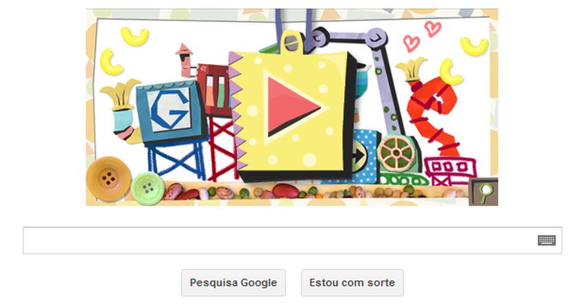 Dia das Mães é comemorado por Doodle do Google