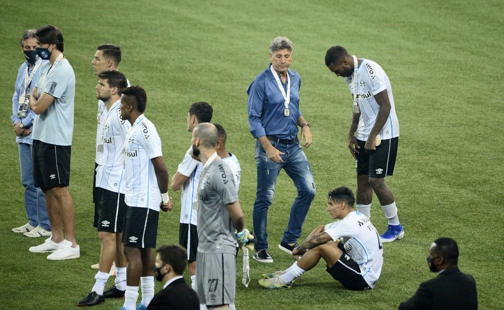 Grêmio derrota final da Copa do Brasil — Foto: Marcos Ribolli