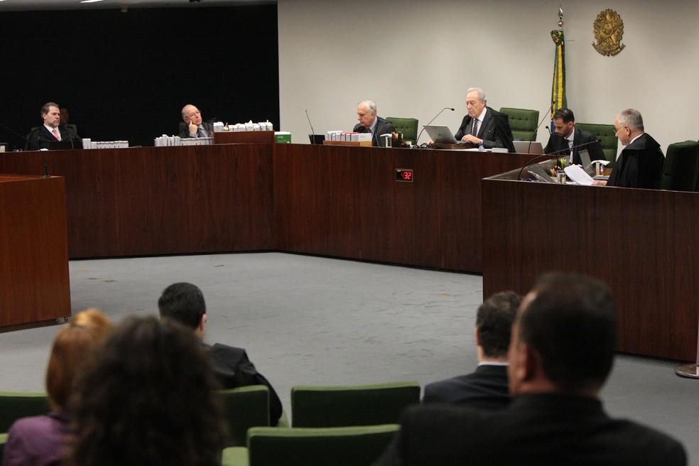 Plenário da Segunda Turma do Supremo analisou a legalidade do 'auxílio-voto' (Foto: Carlos Moura/STF)